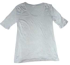 Preload https://item2.tradesy.com/images/halogen-taupe-tee-shirt-size-petite-4-s-344536-0-0.jpg?width=400&height=650