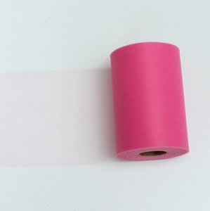 Hot Pink Tulle Huge Roll - 100 Yd X 6 In Tulle Spool - Tulle Roll Free Ship Ceremony Decoration