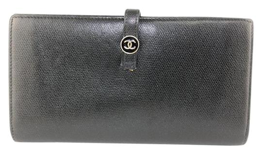 Preload https://item3.tradesy.com/images/chanel-black-classic-cc-logo-leather-long-wallet-3445717-0-13.jpg?width=440&height=440