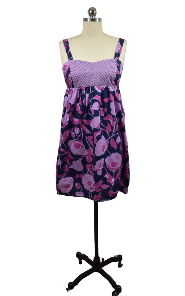 49f6bcfcad35 Anthropologie Purple Eloise Short Casual Dress Size 6 (S) - Tradesy