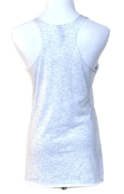 Other Racer-back Casual Top Light Gray