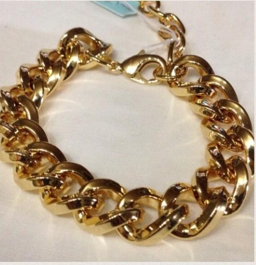 Other Gold Tone Heavy Chain link Bracelet