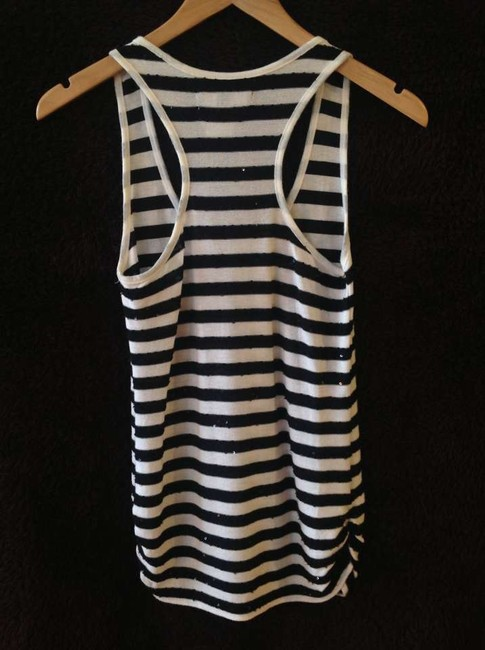 213 Industry Top Black and white stripe