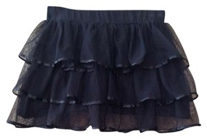 H&M Holiday Holiday Mini Skirt Black