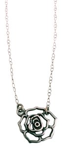 Betsey Johnson Delicate Rose Charm Necklace