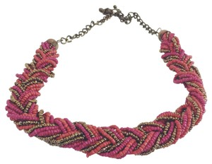 Madewell Beaded Statement Necklace