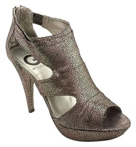 Guess G By Jamarri Heels Metallic Platforms