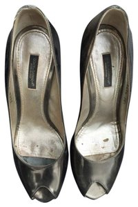 Dolce&Gabbana Metallic Silver Pumps