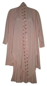 Unknown Vintage Sample Sale Pink Stylish Dancing Skirt Suit Made in USA of Imported Fabric