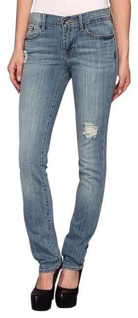 Lucky Brand Light Wash Straight Leg Jeans Size 25 (2, XS) Lucky Brand Light Wash Straight Leg Jeans Size 25 (2, XS) Image 1