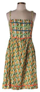 Free People short dress Multicolor Sleeveless Print on Tradesy