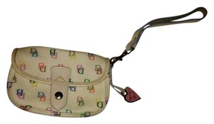Dooney & Bourke Wristlet in multi colored