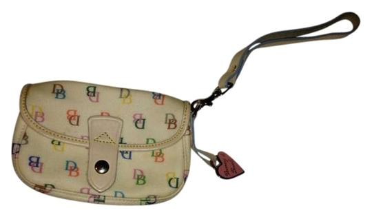 Preload https://item1.tradesy.com/images/dooney-and-bourke-multi-colored-leather-wristlet-344750-0-0.jpg?width=440&height=440