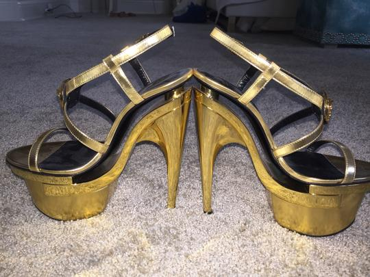 Versace Gold Platforms