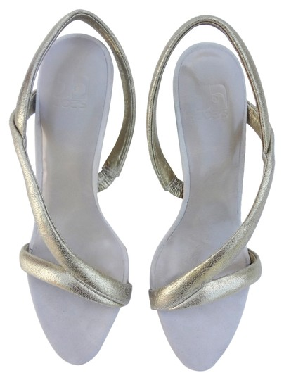 JOE'S Jeans Slingback Gold Sandals