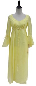 Yellow Maxi Dress by Vintage Belle