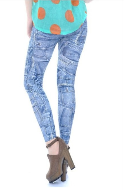 Other Denim Print Leggings