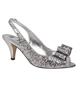 Slingback Glitter Pump Wedding Shoes