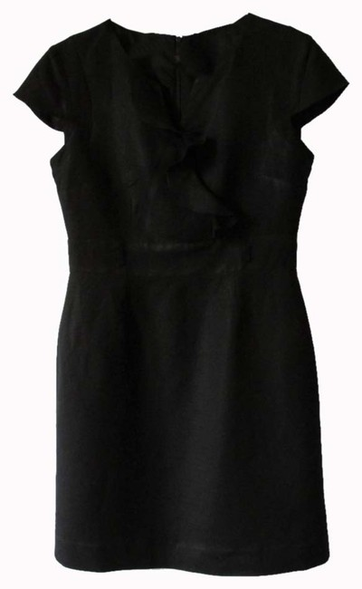 Tahari short dress Black on Tradesy