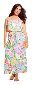 Pink Maxi Dress by Lilly Pulitzer Nosey Posie Maxi Floral
