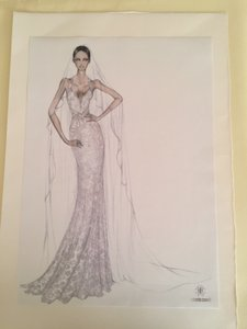 Roberto Cavalli Wedding Dress