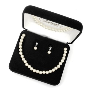 Mariell 3-pc. Pearl Boxed Wedding Jewelry 2109bs