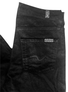 7 For All Mankind Flare Leg Jeans-Coated