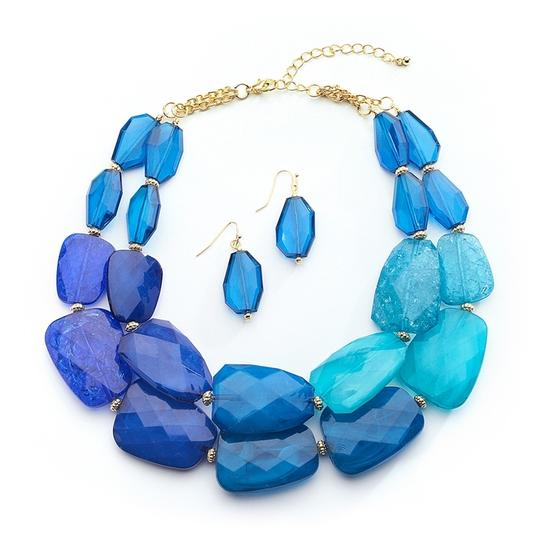 Preload https://item3.tradesy.com/images/mariell-blue-tones-chunky-statement-earrings-for-prom-or-bridesmaids-4111s-blu-necklace-3450157-0-0.jpg?width=440&height=440