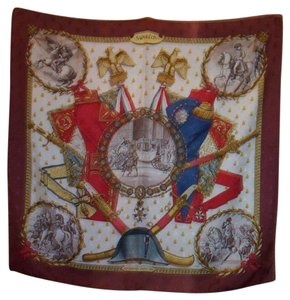 Hermès Hermes Philippe Ledoux Napoleon Silk Twill Jacuard Scarf Re-issued 1985