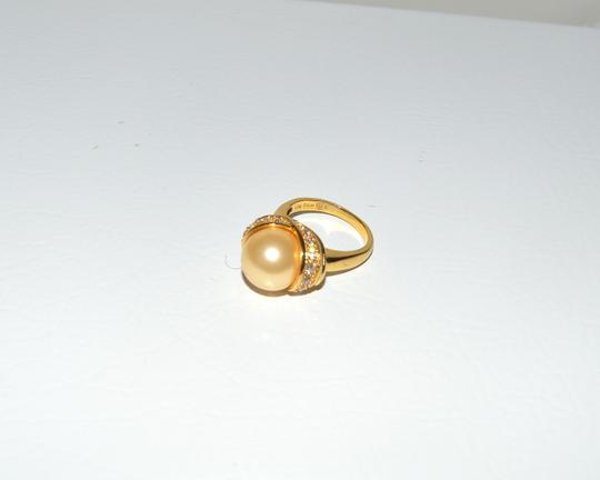 Pearlfection Pearlfection Faux South Sea Golden Pearl Ring 7