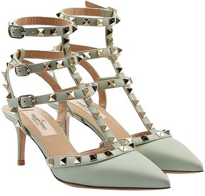 Valentino Light Green Pumps