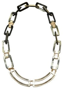 Maiyet Maiyet Mixed Center Horn And Metal Short Necklace