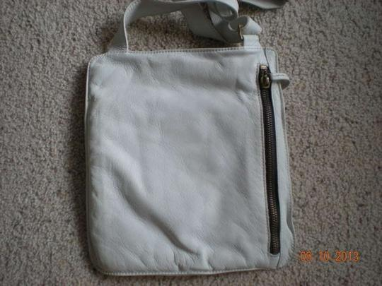 Marco Buggiani Handbag White Leather Handbags Vintage Cross Body Bag