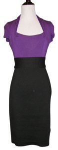 Preload https://item2.tradesy.com/images/max-and-cleo-black-and-magenta-knee-length-workoffice-dress-size-4-s-3451456-0-0.jpg?width=400&height=650