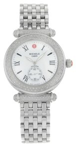 Michele Michele Caber MWW16A000054 Stainless Steel Quartz Ladies Watch
