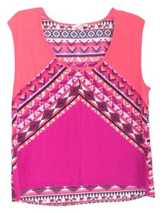 Speechless Tribal Printed Boho Bohemian Top Multi