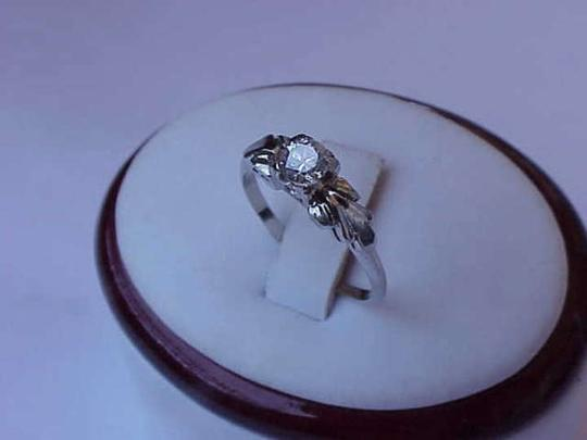 Other Antique 14k white gold .25ct diamond ring