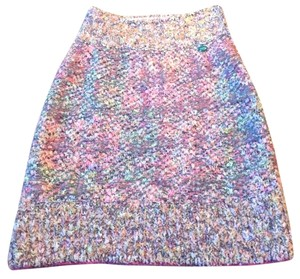 Chanel Skirt Pink Multi