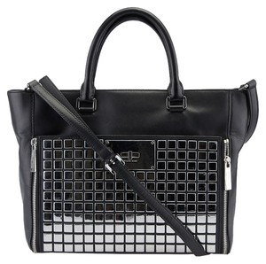 Michael by Michael Kors Natalia Leather Tote in Black
