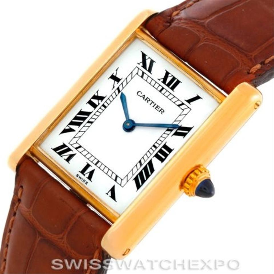 tank watches owned p watch pre switzerland selector mc cartier of