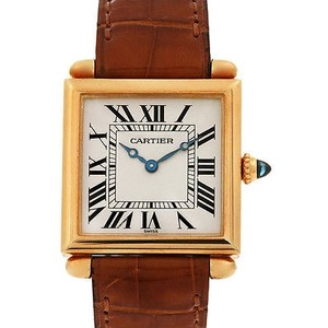 Cartier Cartier Tank Obus 18k Yellow Gold Quartz Watch