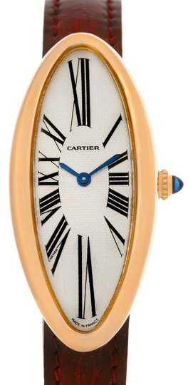 Preload https://item3.tradesy.com/images/cartier-silver-baignoire-alongee-mcanique-18k-rose-gold-ladies-watch-3454177-0-2.jpg?width=440&height=440