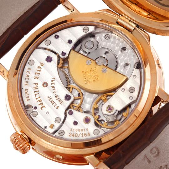 Patek Philippe Patek Philippe Complications Power Reserve Moonphase Rose Gold Watch 5054
