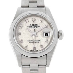 Rolex Rolex Oyster Perpetual Date Ladies Steel Watch 79160