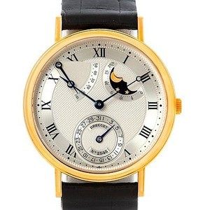 Breguet Breguet Classique Power Reserve Moonphase Yellow Gold Watch 3137ba11986