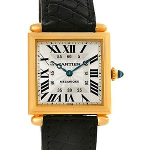Cartier Cartier Tank Obus 18k Yellow Gold Mecanique Watch W1527551