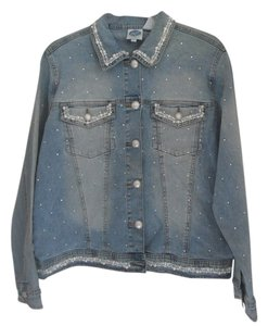 DG2 by Diane Gilman Womens Jean Jacket