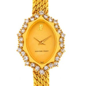 Audemars Piguet Audemars Piguet Vintage 18k Yellow Gold 1.67 Ct Diamond Cocktail Watch