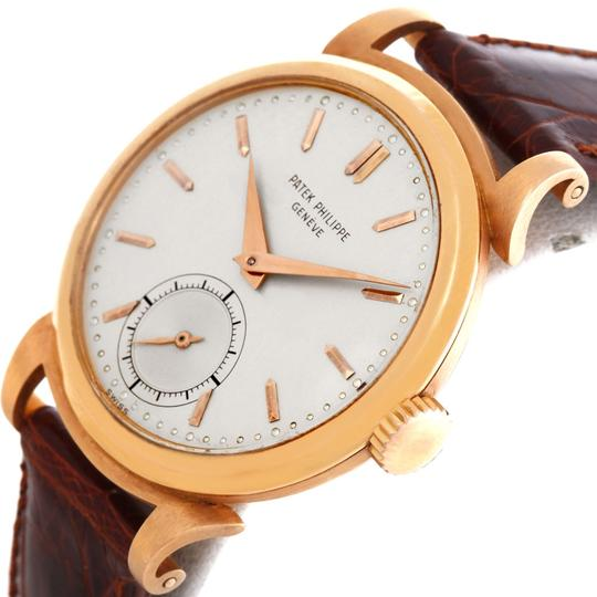 Patek Philippe Patek Philippe Calatrava Vintage 18k Rose Gold 1491 Watch