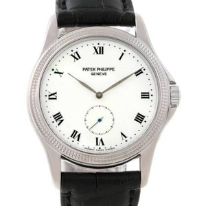 Patek Philippe Patek Philippe Calatrava 18k White Gold Watch 5115